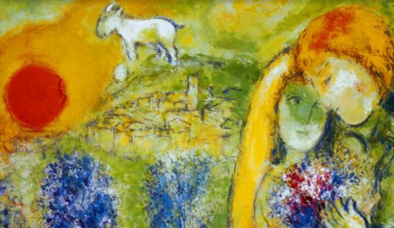 marc-chagall-amoureux-de-vence-artwork